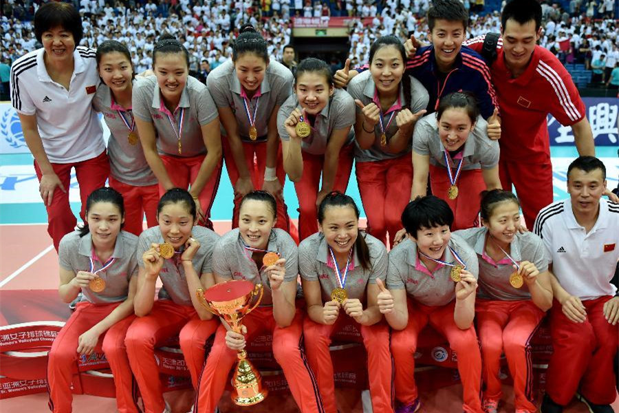 China claim title of Asian Women's Volleyball Championships