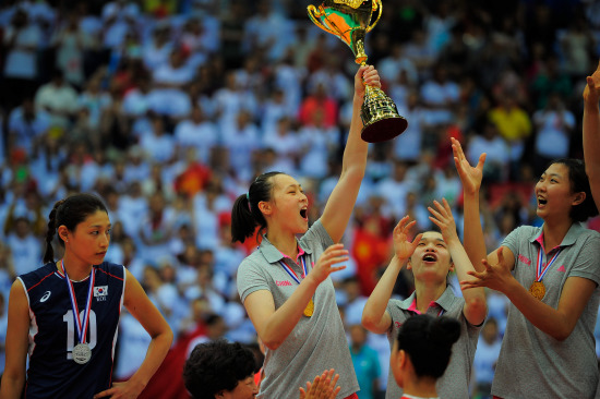China win Asian Women's Volleyball Championship