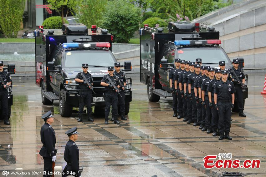 Beijing police prepare for upcoming events