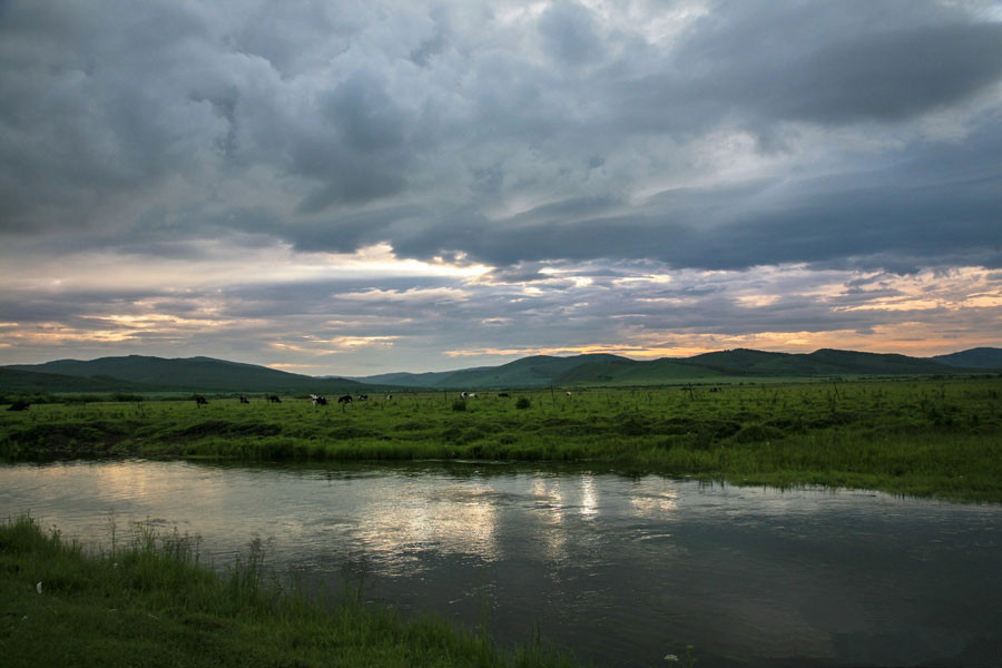Beautiful Hulunbuir Grassland