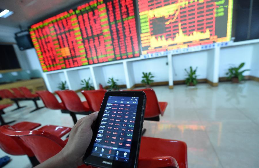 China stocks close sharply higher