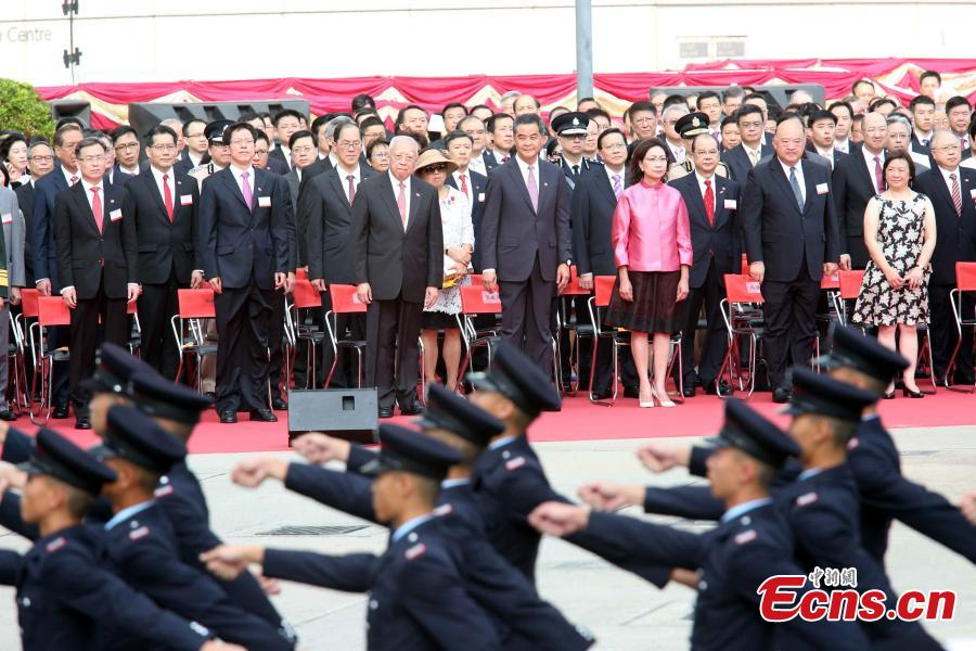 Hong Kong marks 18th anniversary of SAR establishment