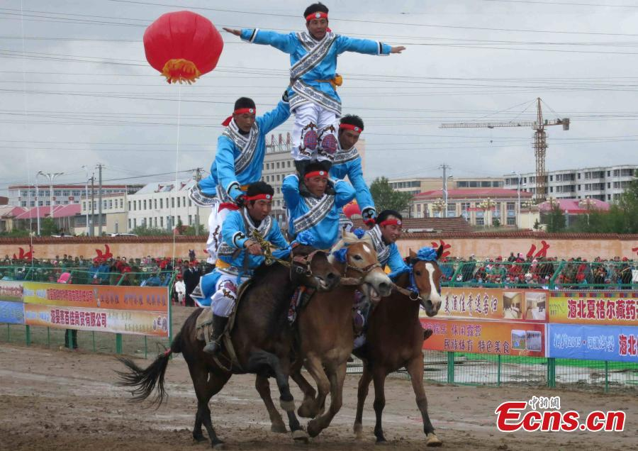 NW China holds ethnic sports meet