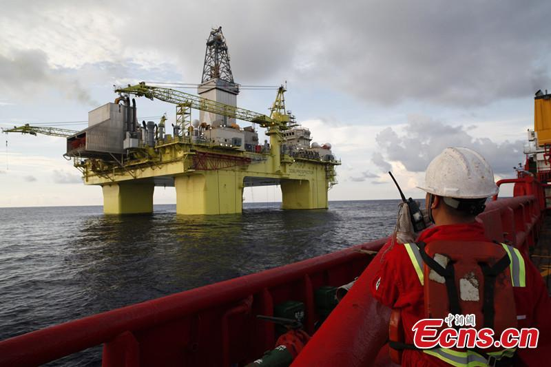 Drilling platform put into operation in South China Sea