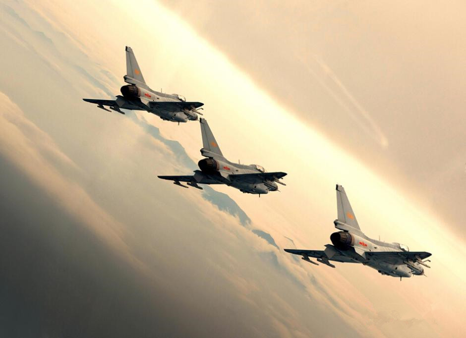 Stunning photos of China's fighter planes