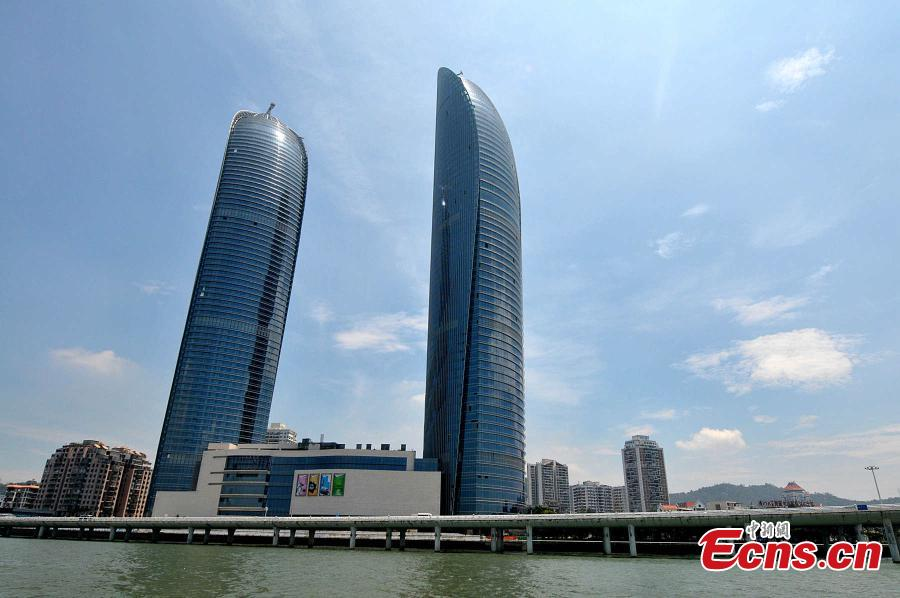 Xiamen's tallest building to be in use