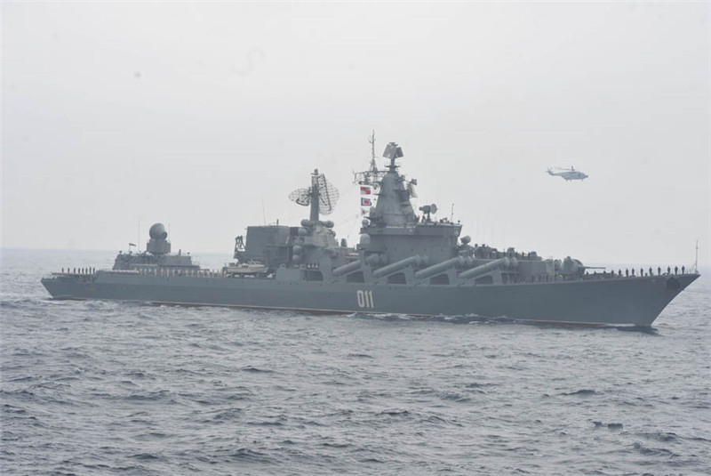 Chinese, Russian navies complete 9-day joint exercise