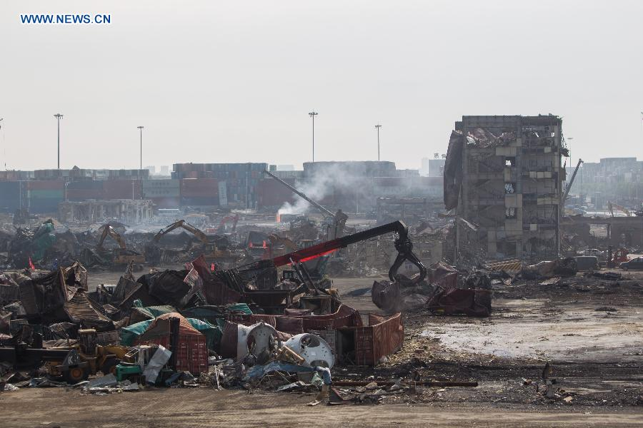 Death toll of Tianjin blasts rises to 147