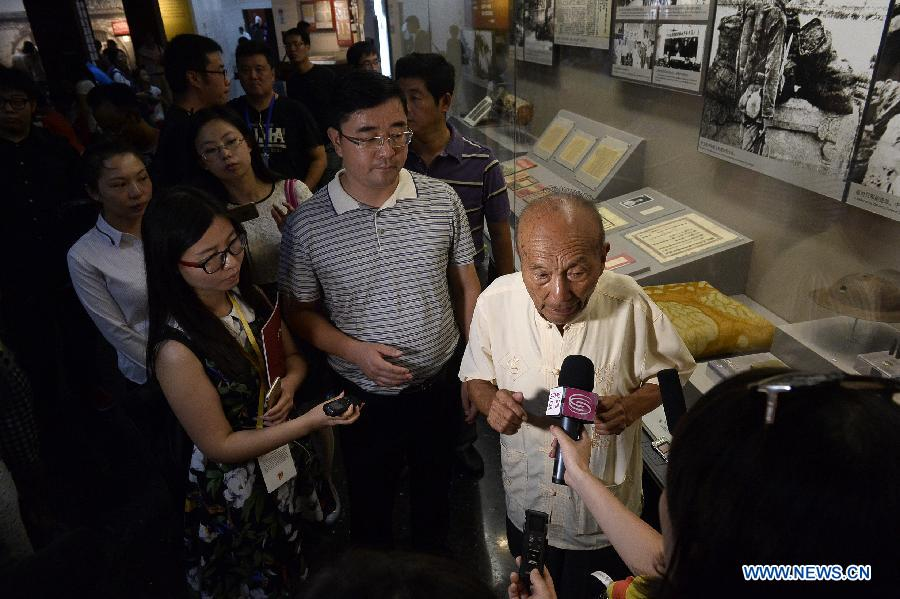Journalists' visit to Wanping town marks anti-Japanese war victory