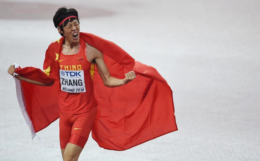 China sees breakthrough performances at athletics championships