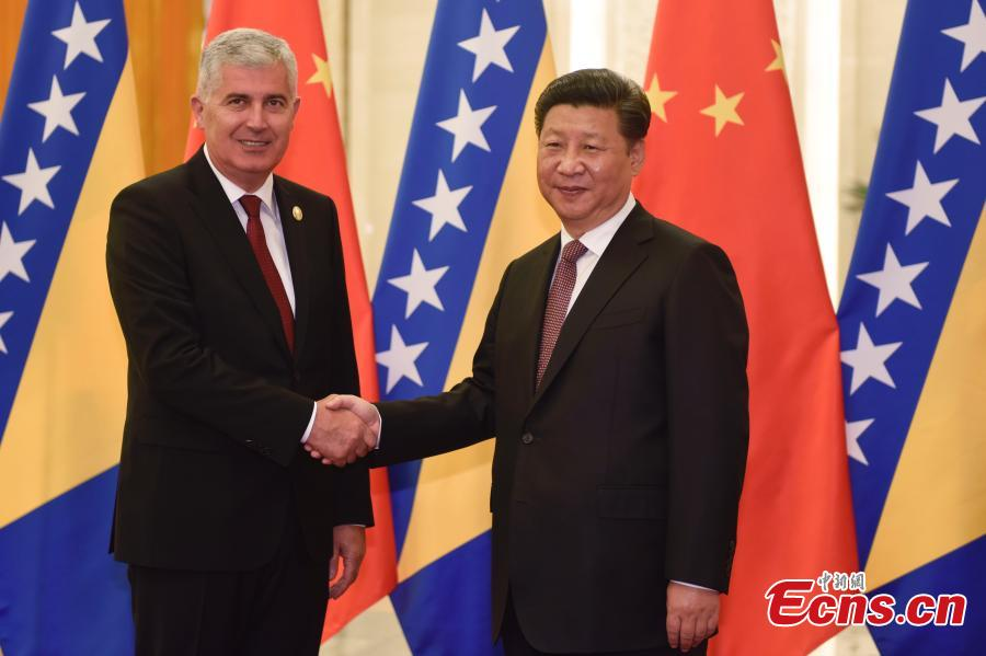 China seeks stronger ties with Bosnia and Herzegovina