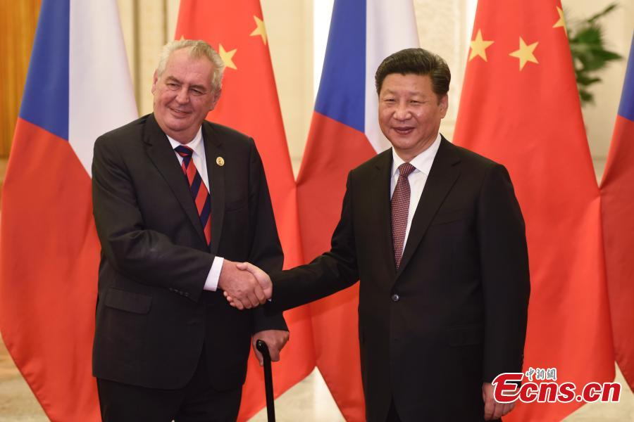 China, Czech Republic vow to strengthen relations