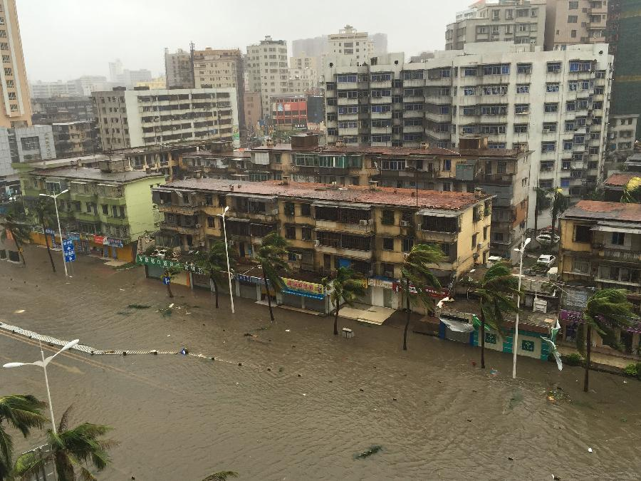 Typhoon Mujigae leaves 15 dead or missing in S China
