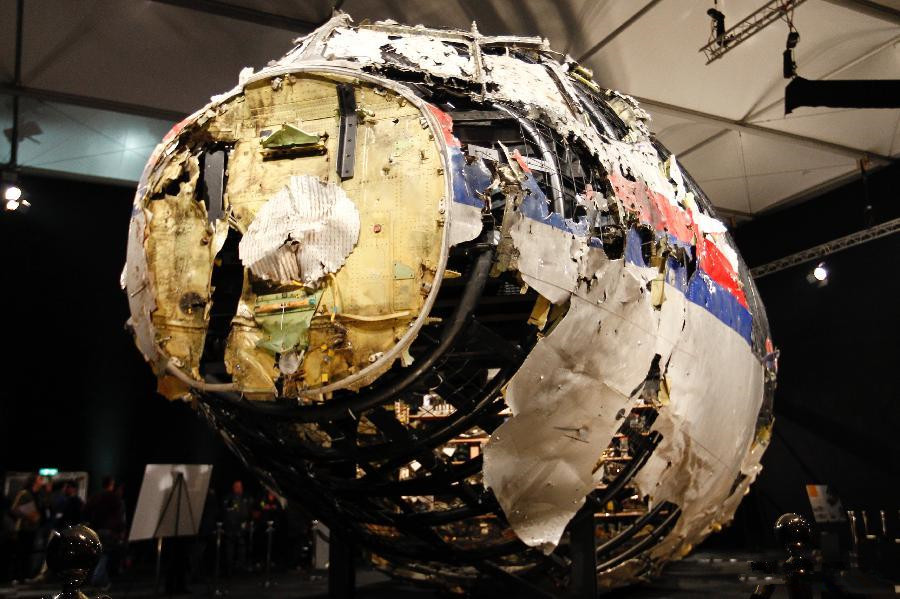 MH17 hit by Buk missile system