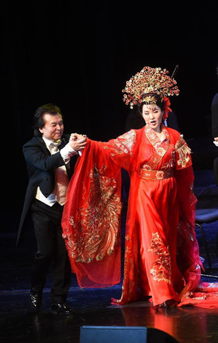 Opera 'Mulan' starts tour along historical Silk Road