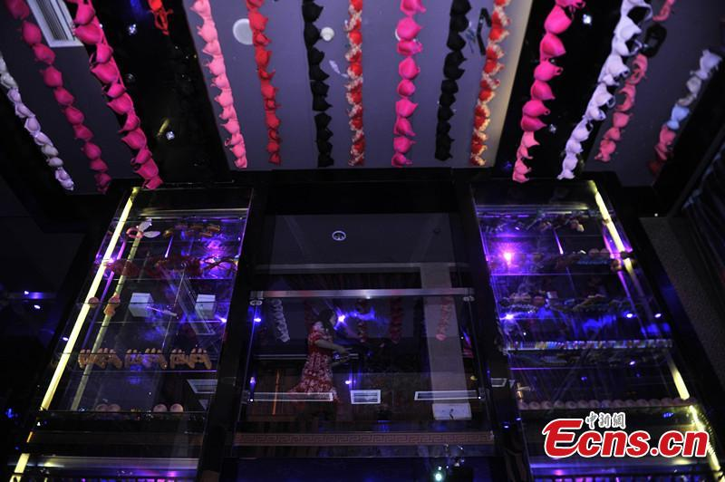 Lingerie-themed bar opens in Chongqing