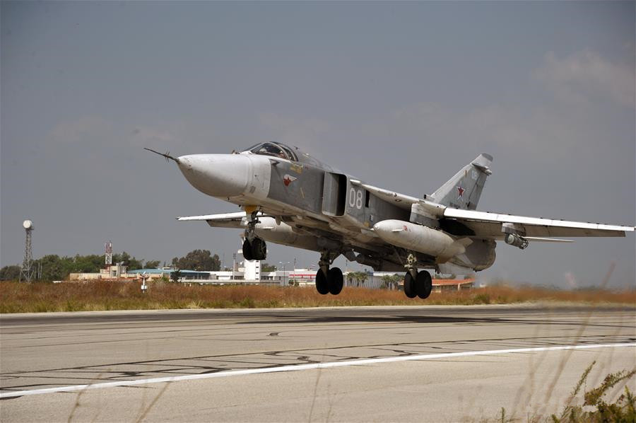 Russian Defense Ministry confirms a Su-24 crashed in Syria