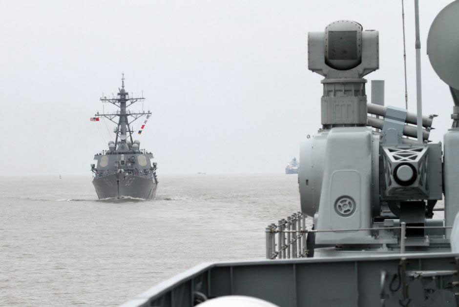 China, U.S. conduct joint exercise in the East China Sea