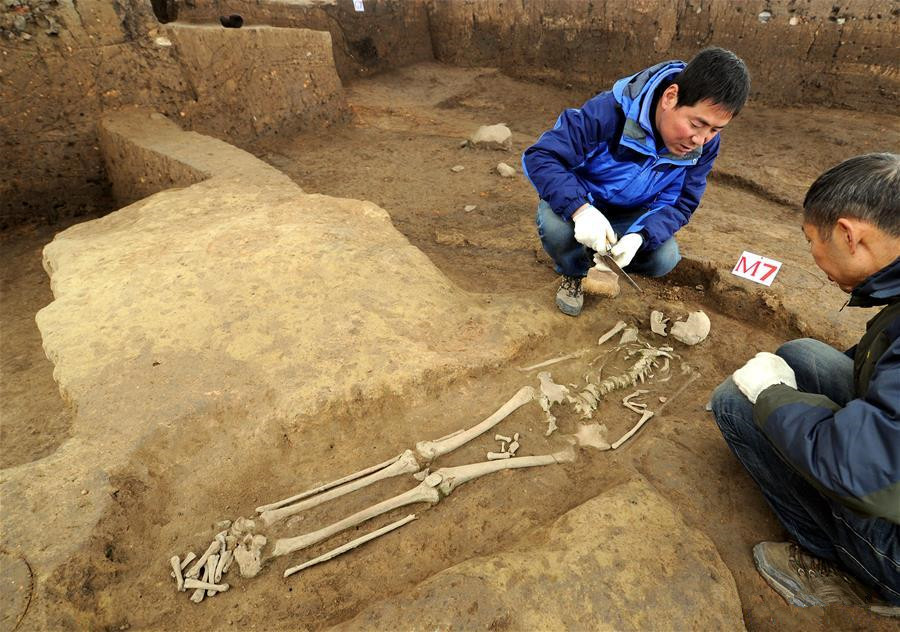 Longgang Temple paleoanthropological site in Shaanxi