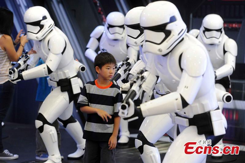 Star War exhibition to be held in HK