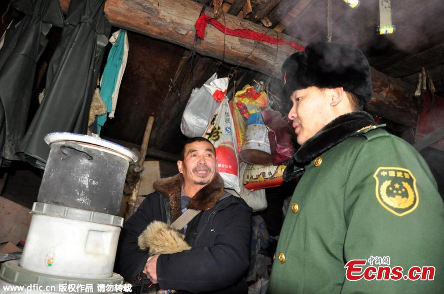 Man lives in cellar beside border river for over 10 years