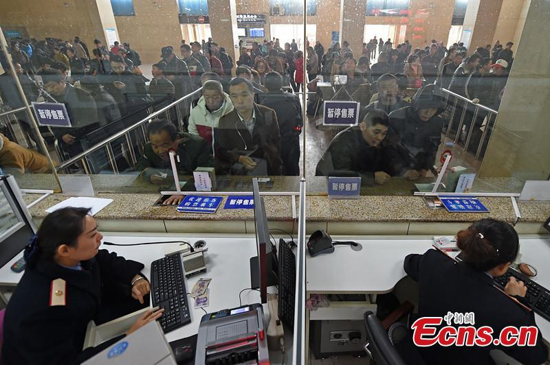 China starts selling chunyun tickets