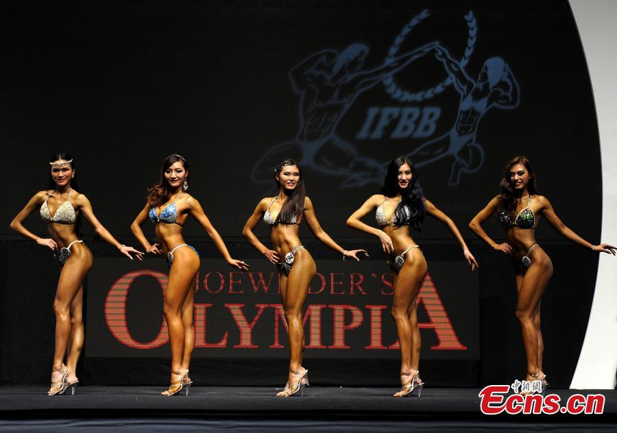 Bodybuilders Show Beauty of Strength in Hong Kong