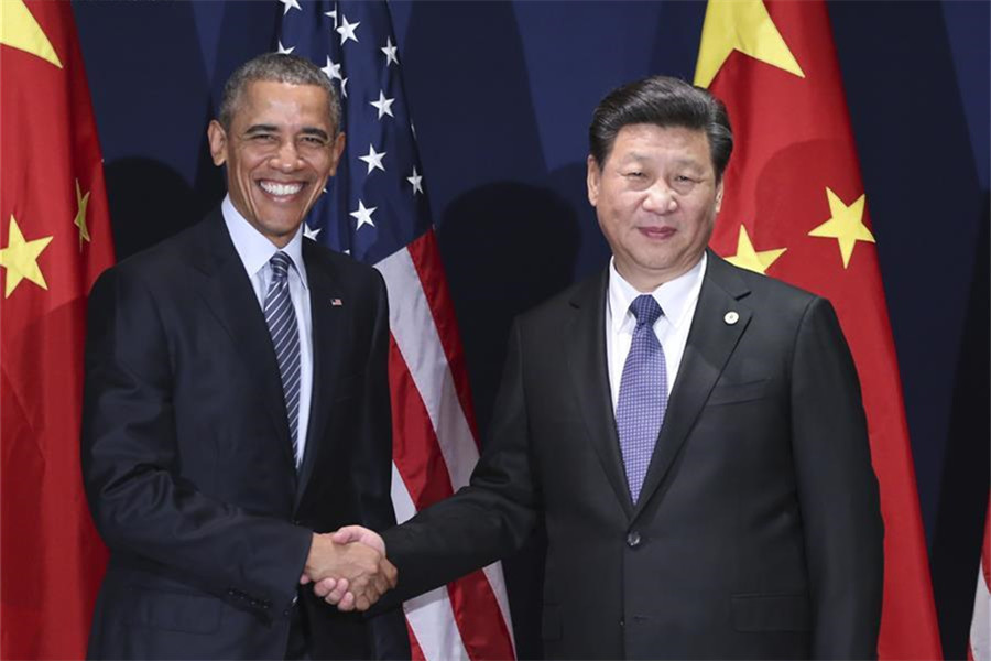 Xi meets Obama on ties ahead of UN climate conference