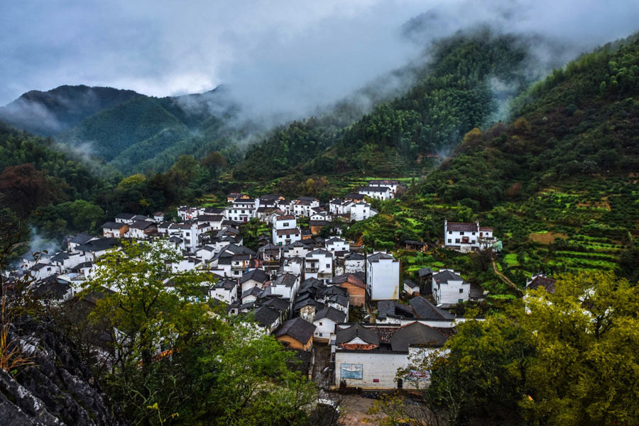 Picturesque Shicheng Mountain in Wuyuan