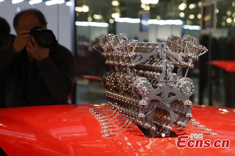 Auto Art Exhibition held in Beijing