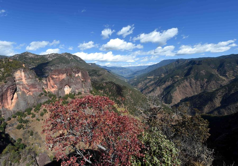 Laojunshan National Park in Yunnan embodies geology, stunning landscape