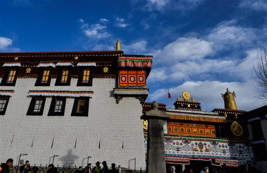 Jokhang Temple all set for celebrating Tibetan New Year