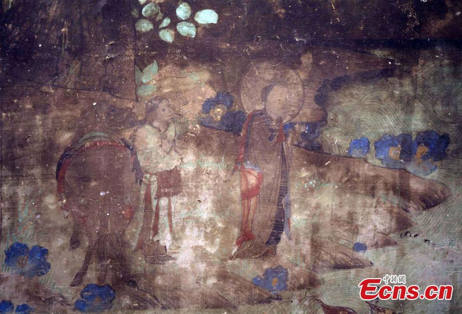 Dunhuang murals feature monkeys 1,400 years ago