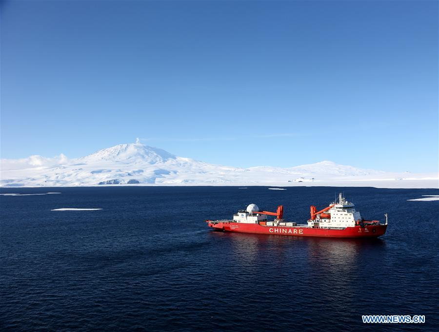 Chinese icebreaker 'Xuelong' reaches Ross Sea in Antarctica
