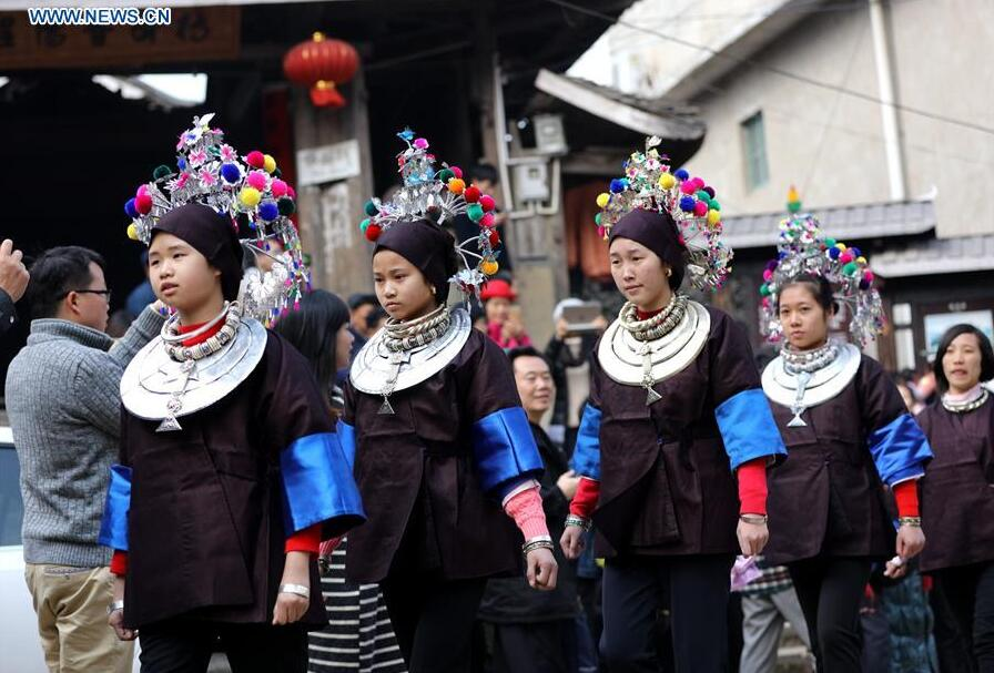 Traditional marriage customs of Dong ethnic group during lunar New Year