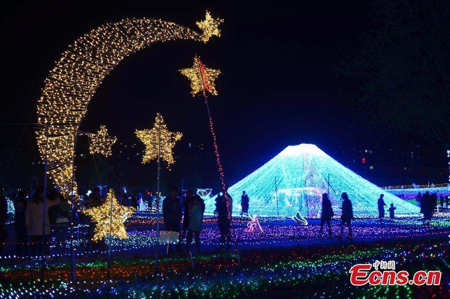20 million lights illuminate Inner Mongolia festival