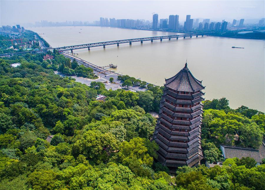 Aerial photos of Hangzhou, host city of G20 summit