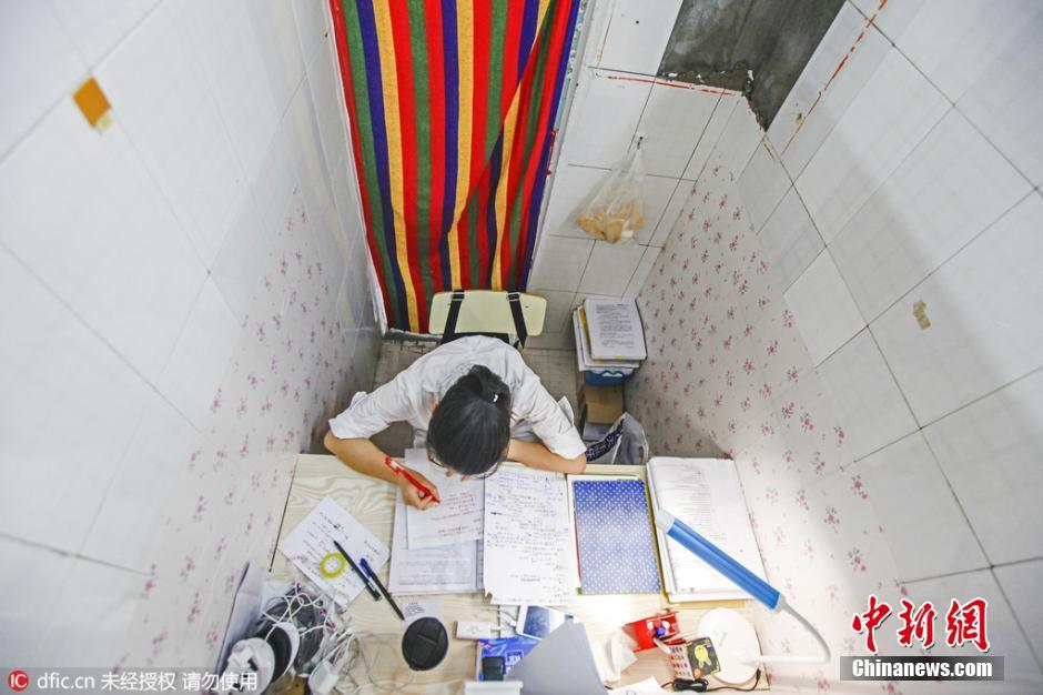 University turns inactive public bathroom into study rooms