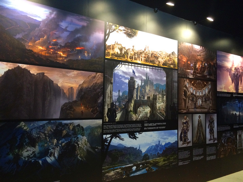 'Warcraft' themed exhibition in Beijing