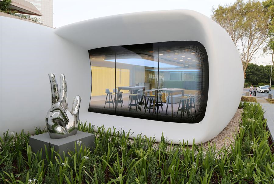World's first functional 3D printed building inaugurated in Dubai