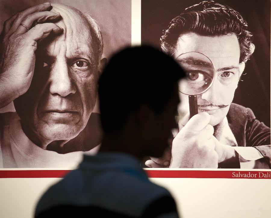 Exhibition on works of Pablo Picasso, Salvador Dali held in Jiangsu