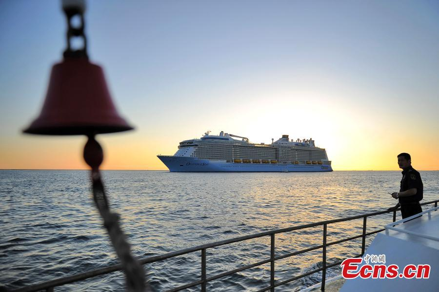 Tianjin welcomes its biggest visiting cruise ship Ovation of the Seas