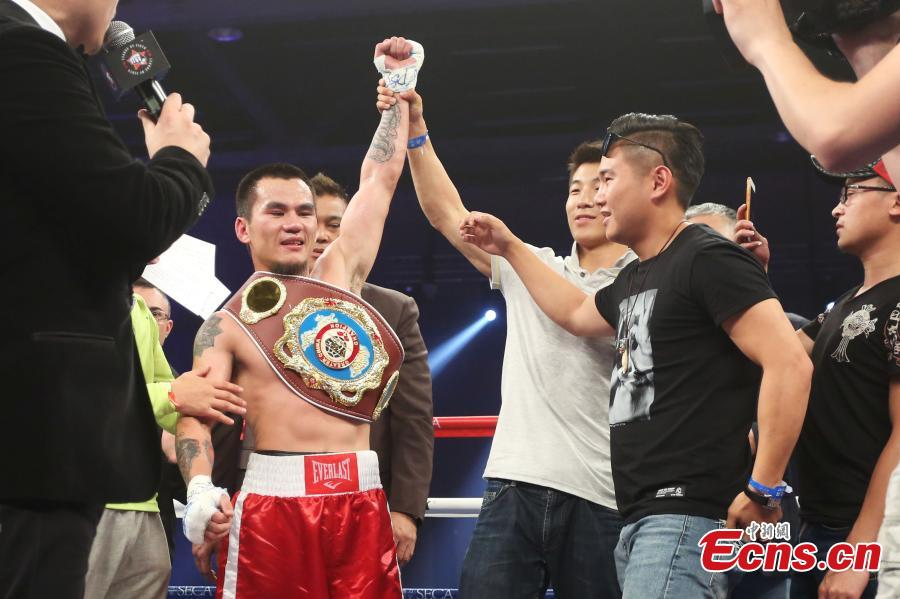 Xu Que wins WBO Greater China featherweight title
