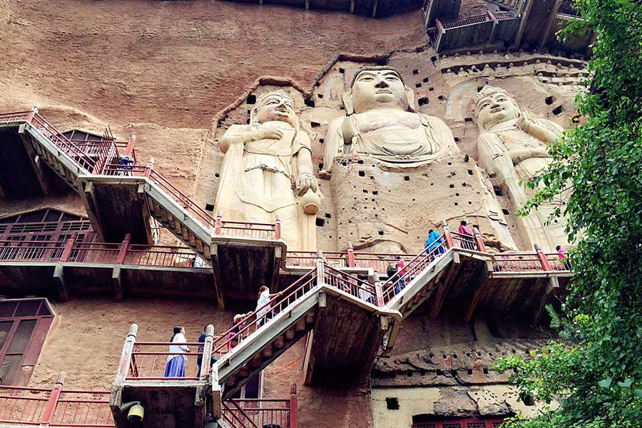 Maiji Mountain Grottoes: 'Museum' of exquisite sculptures
