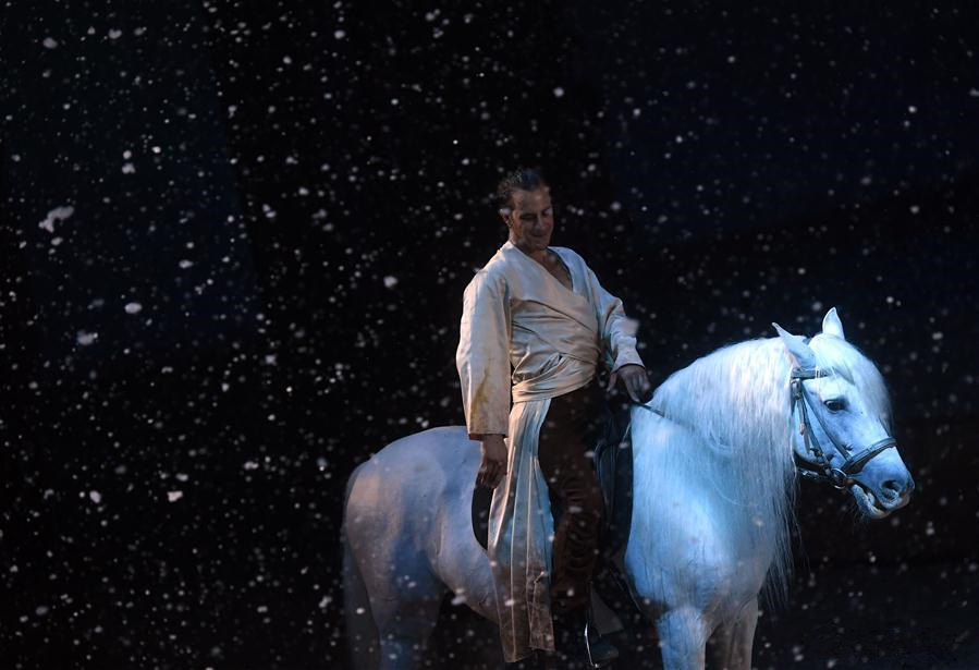 Cavalia show held in Beijing