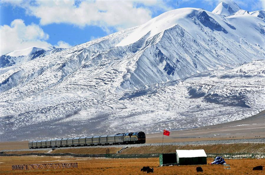 'A green railway' connecting Tibet with other parts of China
