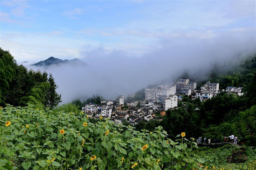 Scenery of Huangshan City in Anhui