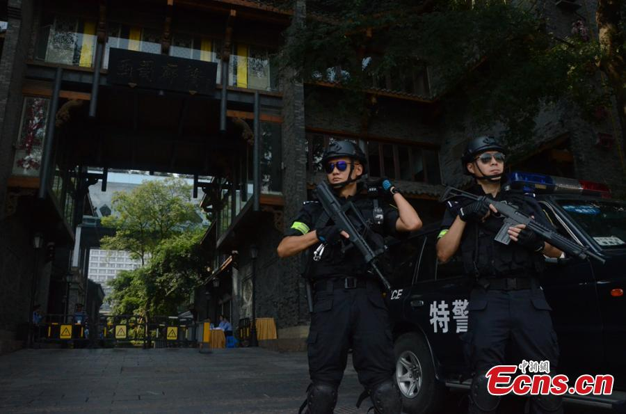 Chengdu boosts security for G20 meeting