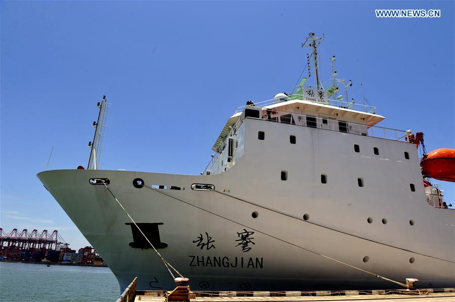 China's deep-sea explorer ship sets sail from Shenzhen
