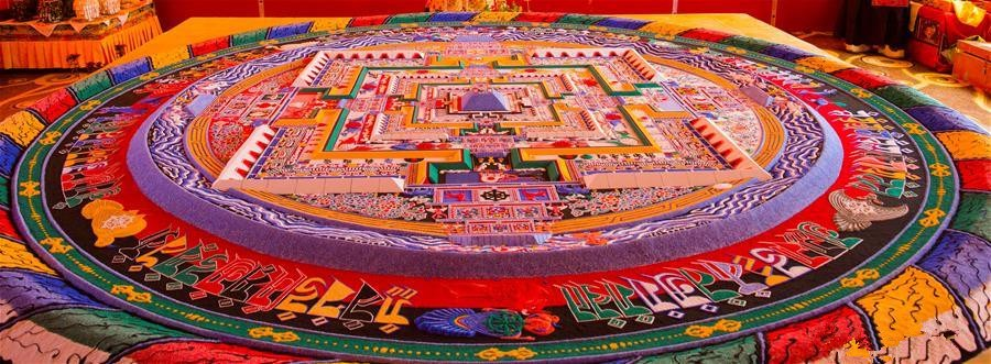 1st Kalachakra ritual given by Panchen Lama concludes